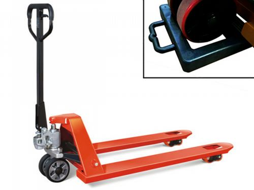 Fully Assembled 2.5 Ton Hand Pallet Pump Truck & Chock - 2500KG Euro Fork Trolley